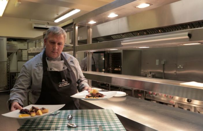Kilshane House's Head Chef Ralf Mahler tells us all about their wedding menu