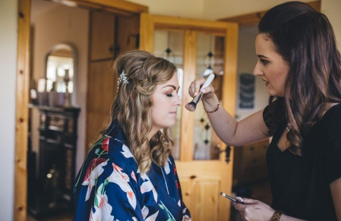 12 Days of Christmas Giveaways - €200 off bridal makeup by Siobhan Brady of Luxe Salon