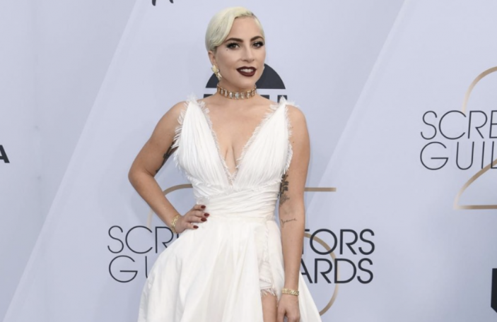 11 sexy wedding dresses inspired by Lady Gaga's dreamy Dior leg slit gown