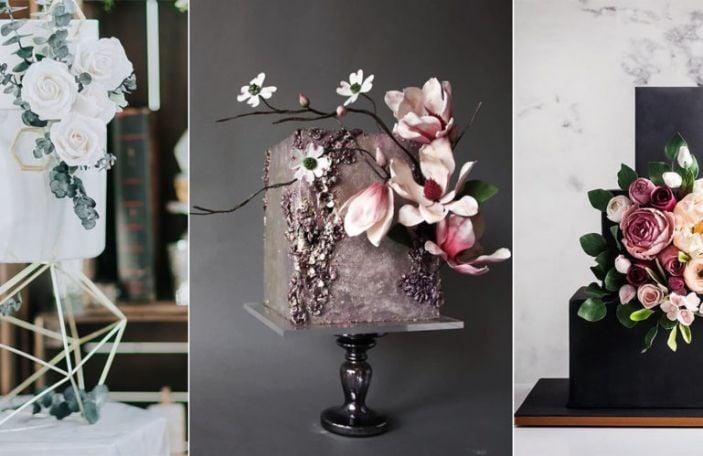 Wedding Cakes we love: 2019's biggest wedding cake trends