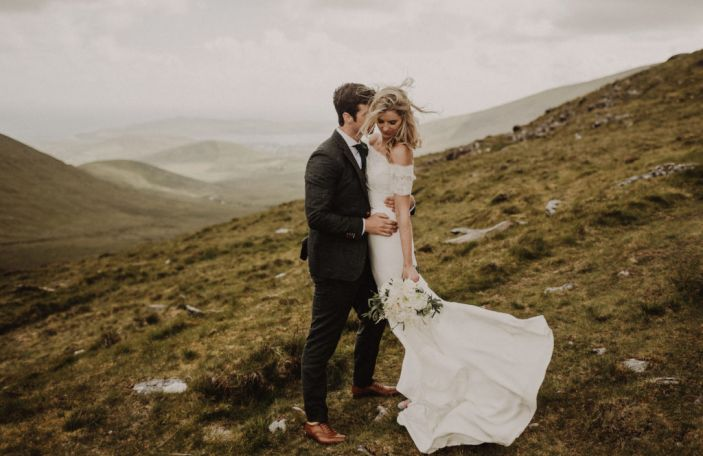 A House Party Wedding in Kerry for Hazel and JR