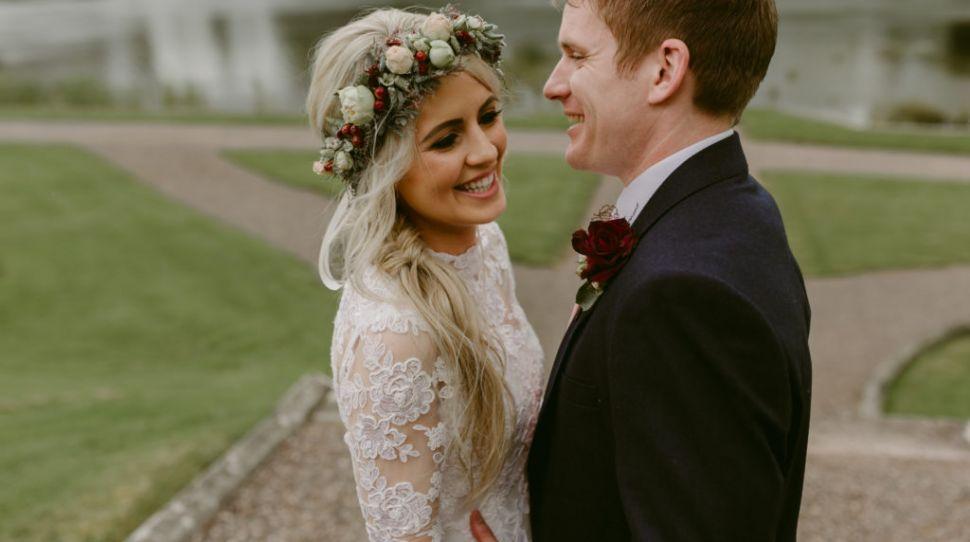 A Stunning Castle Leslie Wedding for Cróna and Joseph