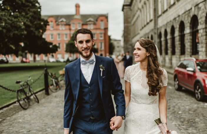 Dublin City Wedding at The Morrison Hotel for Aoife and Frank