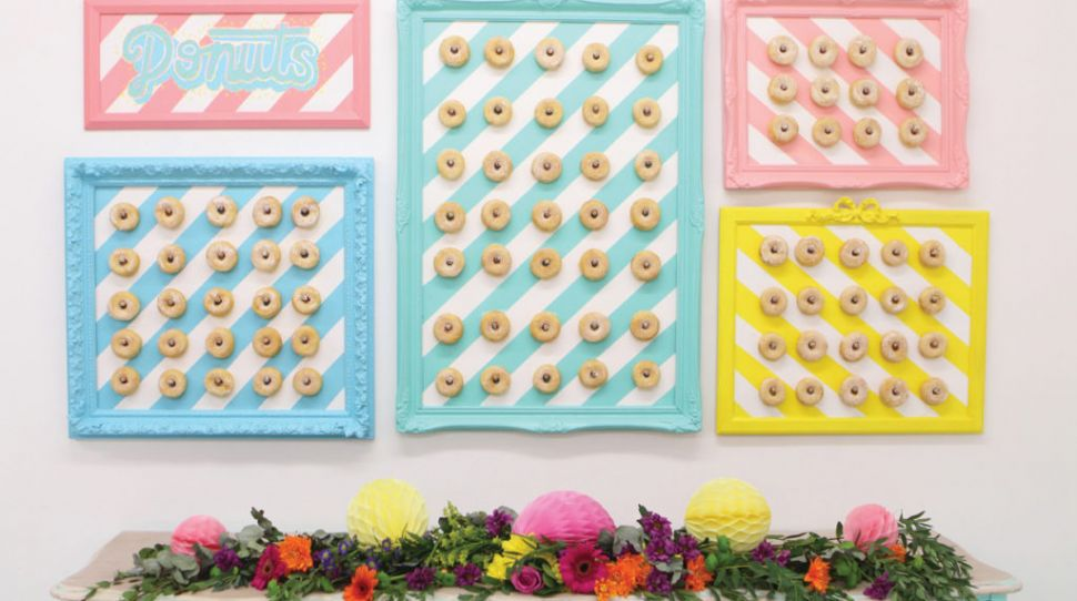 DIY Donut Wall: Joanne Condon's step-by-step guide for a donut pegboard
