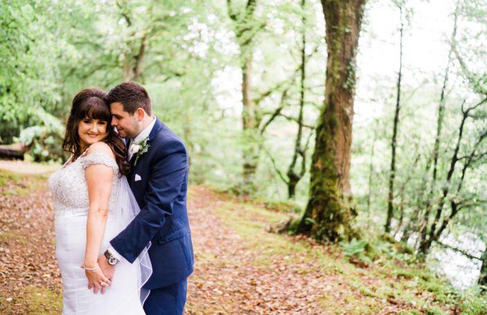 Michelle and Matt's DIY hotel wedding at The Silver Tassie Hotel