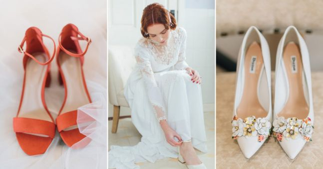 buy popular bd4b5 7ee58 Wedding shoes: Where to shop for beautiful wedding shoes in ...