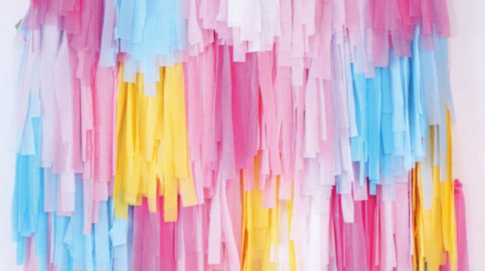 DIY Tassel wall: Joanne Condon's step-by-step guide to the perfect backdrop