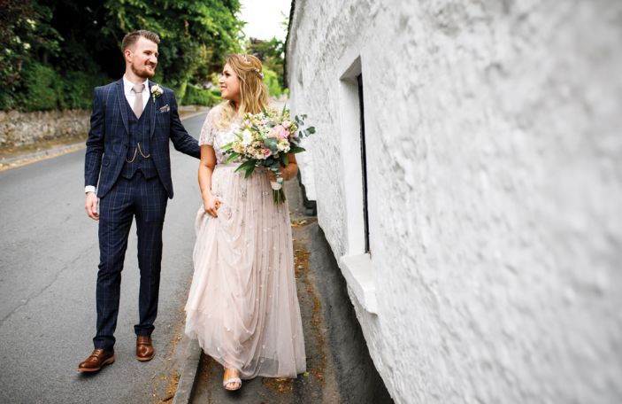A Small Alternative Wedding For Amy and Gerard in Wicklow