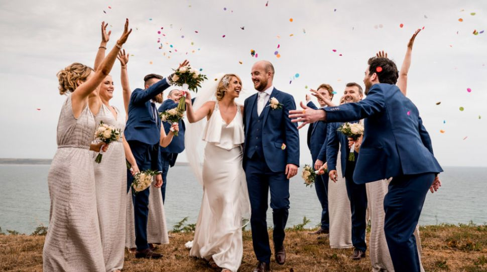 Sinead and Andrew's beautiful summer Brandon House Hotel wedding