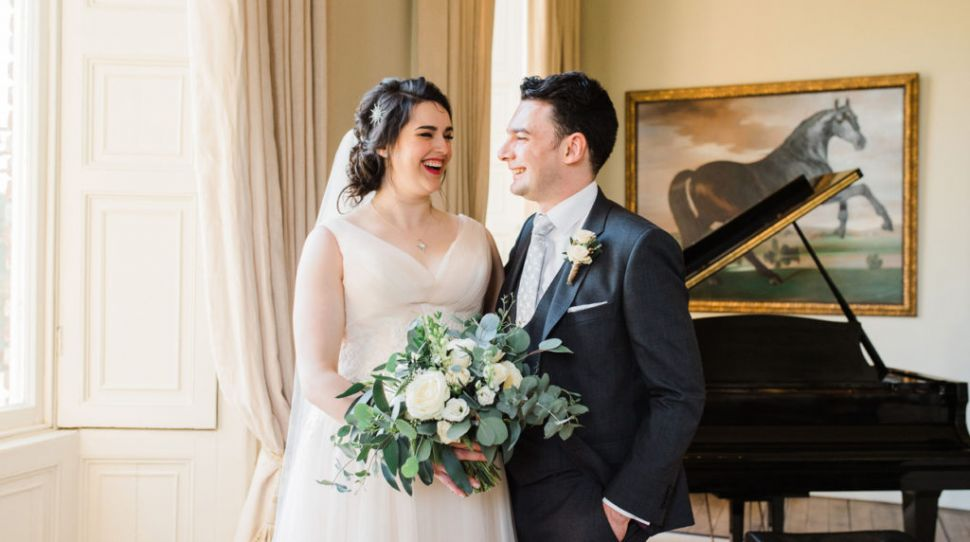 Grainne and Stephen's spring wedding at Kilshane House