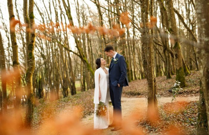 Cassie and Mark's stunning Ballybeg House wedding planned from abroad