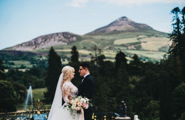 A Powerscourt Estate Wedding for US Couple Suzy and Josh