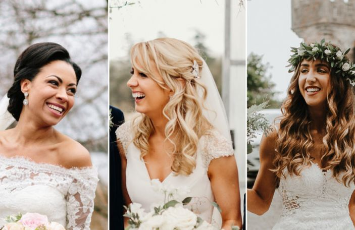 The wedding hairstyles 51 real Irish brides chose - get inspired!