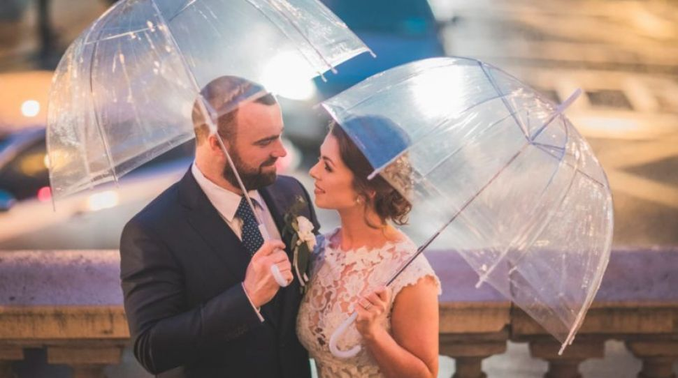 5 reasons you want rain on your wedding day (no, really!)