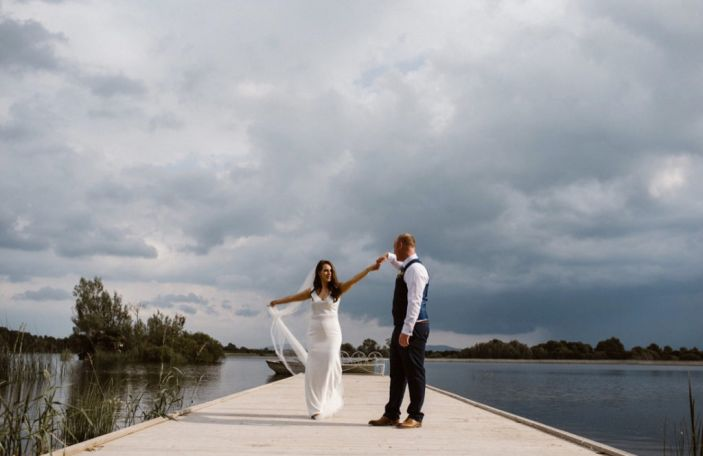 A Stunning Ashley Park Wedding for Siobhán and Brian