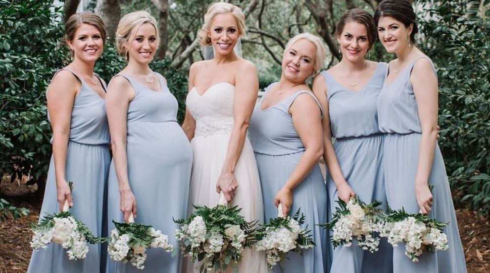 How to Deal With a Pregnant Bridesmaid at Your Wedding