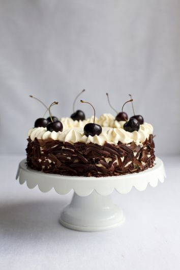 Black Forest Gateaux | DonalSkehan.com, Impressive looking traditional cake.