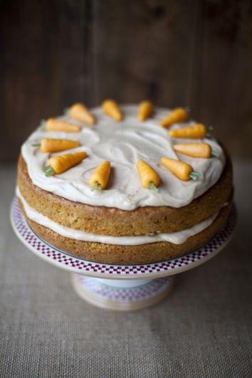 Carrot and Cardamom Cake With Cinnamon Cream Cheese Frosting   DonalSkehan.com, One of your five a day...Kind of!
