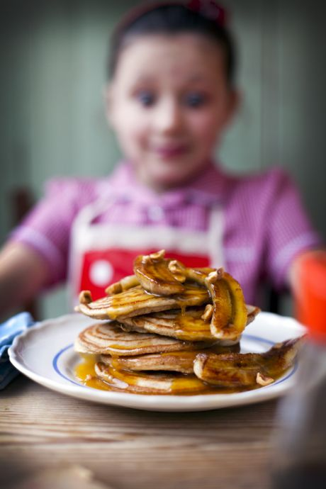 Caramelised Banana Pancakes | DonalSkehan.com, Delicious weekend breakfast!