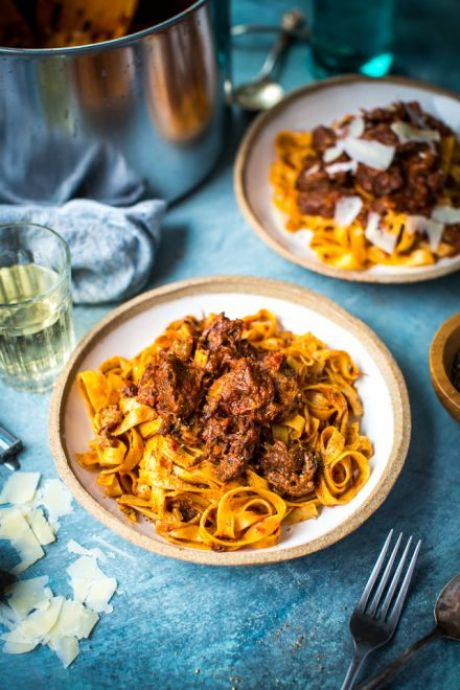 Slow-Cooked Beef Ragu   DonalSkehan.com, The perfect comfort food.