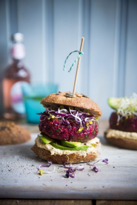Beetroot Burgers | DonalSkehan.com, My favourite veggie burger recipe.