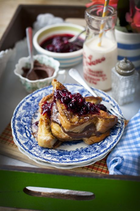 Nutella Stuffed Brioche French Toast | DonalSkehan.com, The most decadently delicious brunch treat!