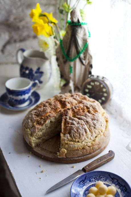 Irish Soda Bread | DonalSkehan.com, A classic Irish recipe that anyone can make in a matter of minutes!