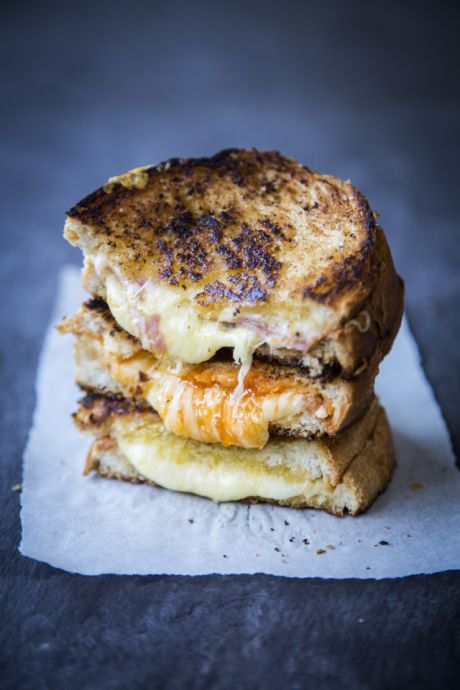 Ultimate Grilled Cheese | DonalSkehan.com, The ultimate guilty pleasure!