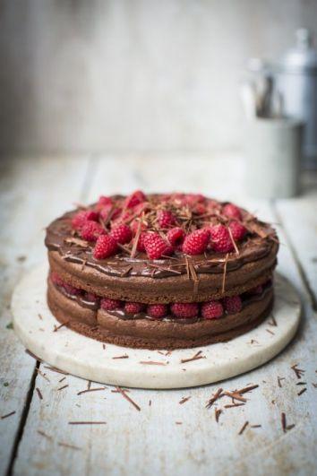 CHOCOLATE AND RASPBERRY DEVIL CAKE | DonalSkehan.com, Brilliant gluten free dessert.