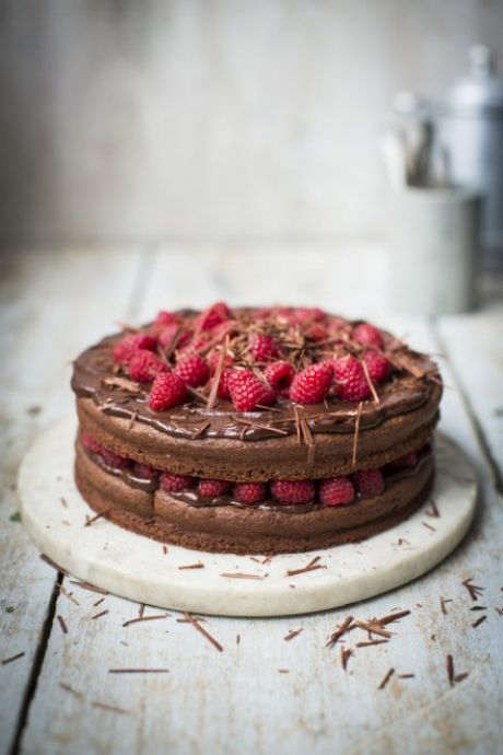 CHOCOLATE AND RASPBERRY DEVIL CAKE | DonalSkehan.com, Brilliant gluten free dessert.