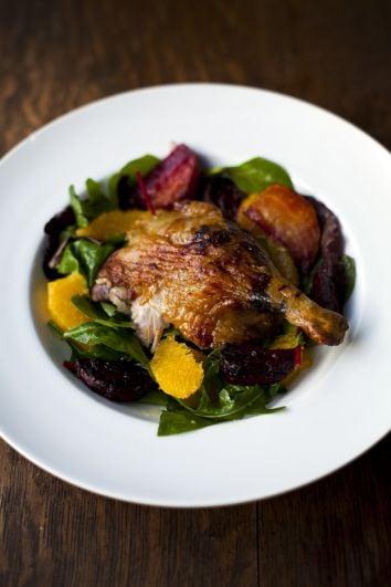 Duck, Beetroot and Orange Salad   DonalSkehan.com, Duck & orange...A winning combination.