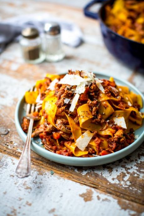 Slow Braised Duck Ragu | DonalSkehan.com, Indulgence at it's finest!
