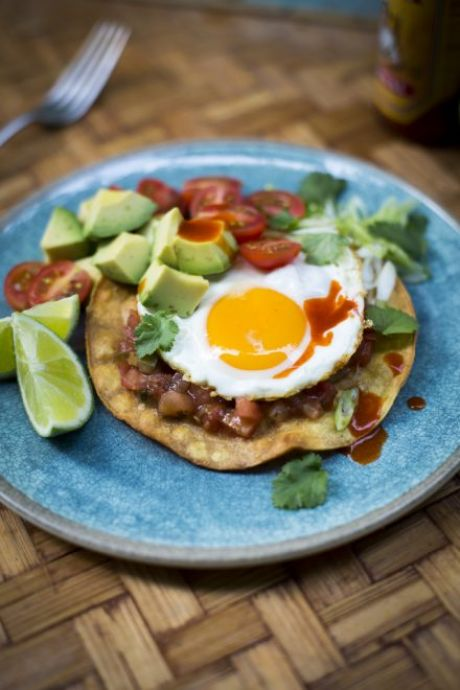 Mexican Breakfast Egg Taco | DonalSkehan.com, Instant taco pleasure in a matter of minutes!