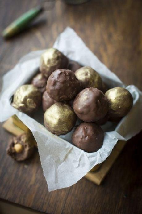Ferrero Rocher Truffles | DonalSkehan.com, These homemade truffles make a wonderfully personal edible gift for a host.