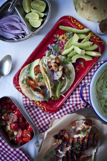 Mexican Fish Tacos | DonalSkehan.com, Great meal for sharing.