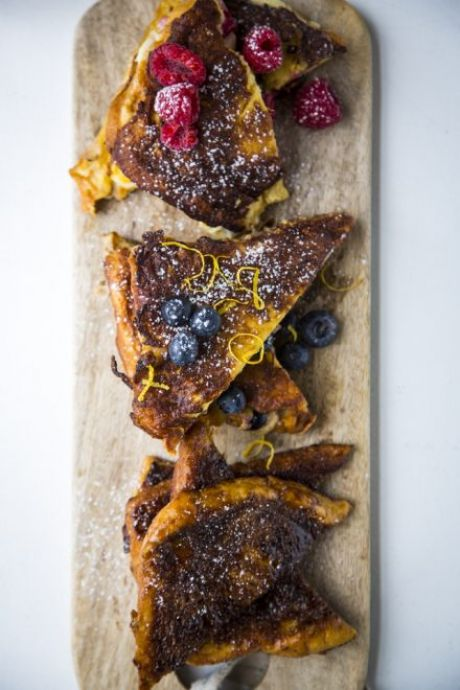 French Toast x 3 Ways | DonalSkehan.com, A decedent weekend brunch.