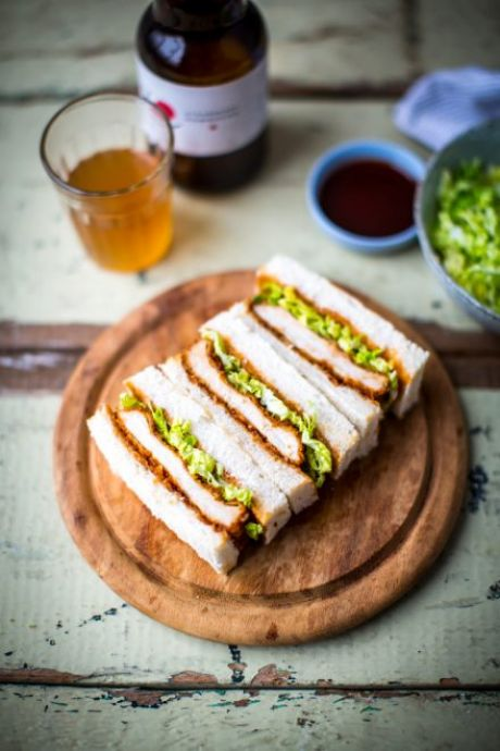 Katsu Pork Sandwich | DonalSkehan.com, An irresistible, juicy pork sandwich you'll want to make time and time again!