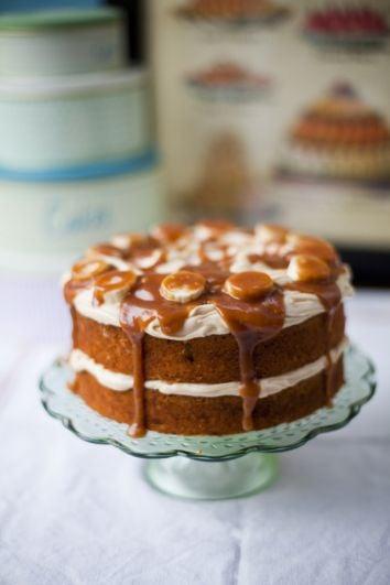 Banoffee Cake | DonalSkehan.com, Perfect as a birthday or celebration cake.