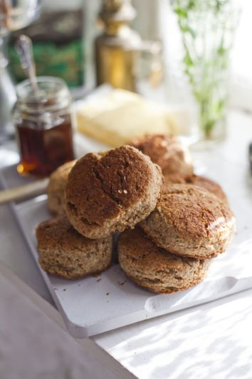 Honey Scones | DonalSkehan.com, A twist on a traditional Irish treat.