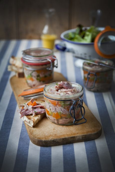 Ham Hock Terrine | DonalSkehan.com, A great starter or served alongside a cheeseboard, this is a real treat!