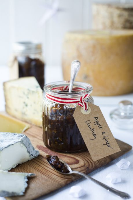 Apple & Ginger Chutney | DonalSkehan.com, The perfect addition to the christmas table.
