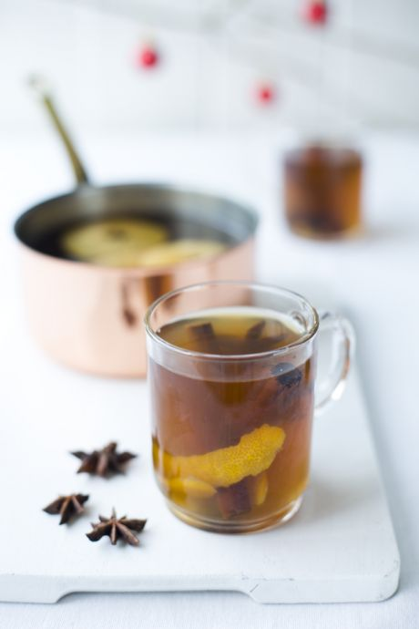 Irish Mulled Cider | DonalSkehan.com, Warm yourself and friends, with this sweetly spiced punch!