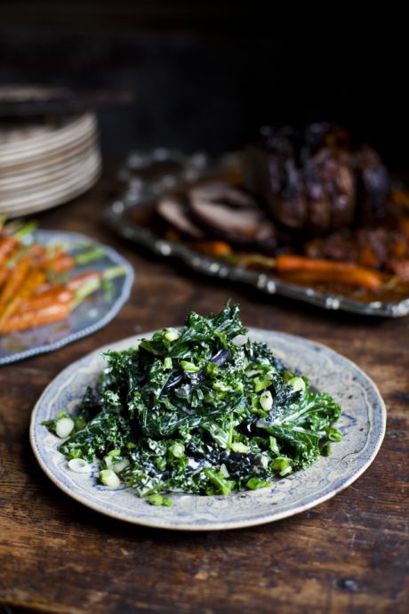 Irish Creamed Kale | DonalSkehan.com, If the thought of kale scares you, then let this be the dish that changes your mind!