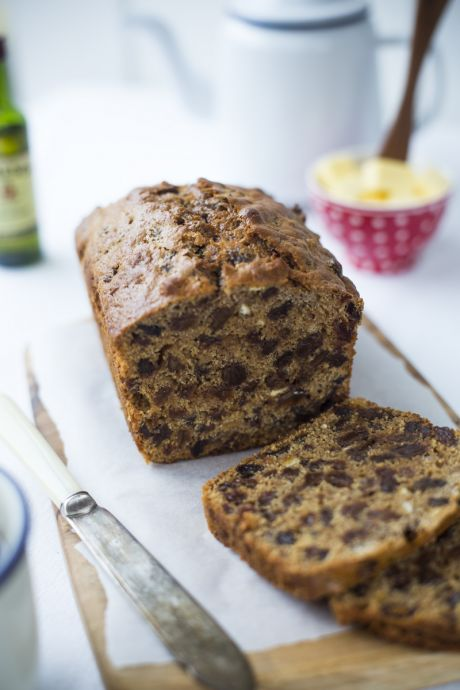 Irish Barmbrack | DonalSkehan.com, Traditionally eaten at Halloween but great all year round. A thick layer of butter and a cup of tea essential!