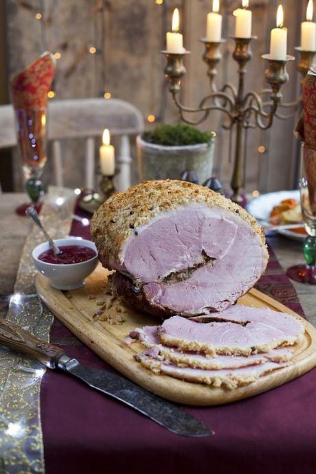 Julmust and Mustard Skinka | DonalSkehan.com, Swedish Christmas Ham.
