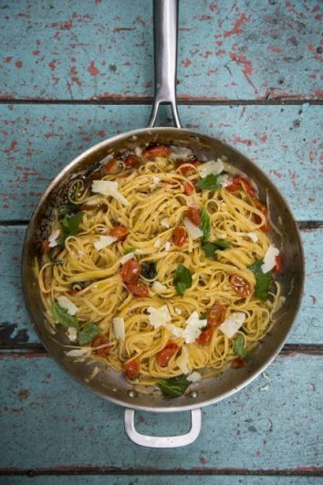 Martha's One Pan Pasta | DonalSkehan.com, A brilliantly simple pasta dish inspired by American food writer and domestic goddess, Martha Stewart.
