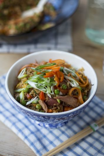 Ultimate Leftover Fried Rice | DonalSkehan.com, A cheap and healthy option full of punchy Asian flavours!