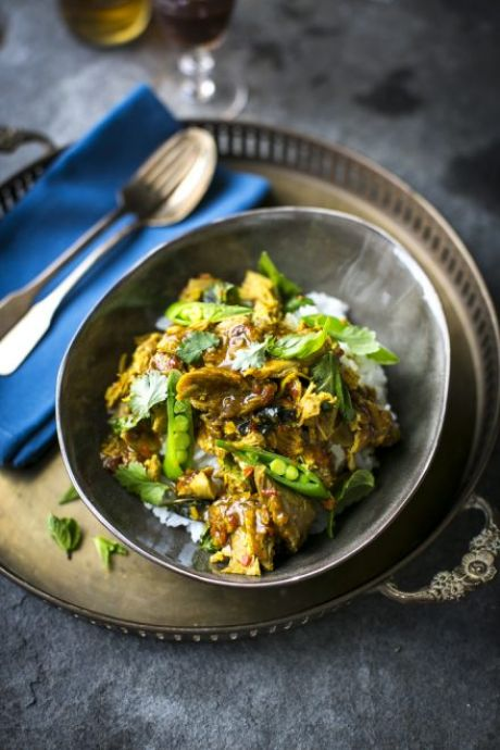 Chilli & Lemongrass Turkey Curry with Perfect Rice | DonalSkehan.com, A delicious, aromatic curry which can be adapted with chicken, prawns or whatever you fancy!