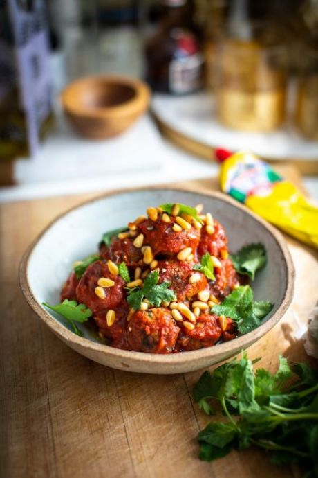Moroccan Harissa Meatballs | DonalSkehan.com