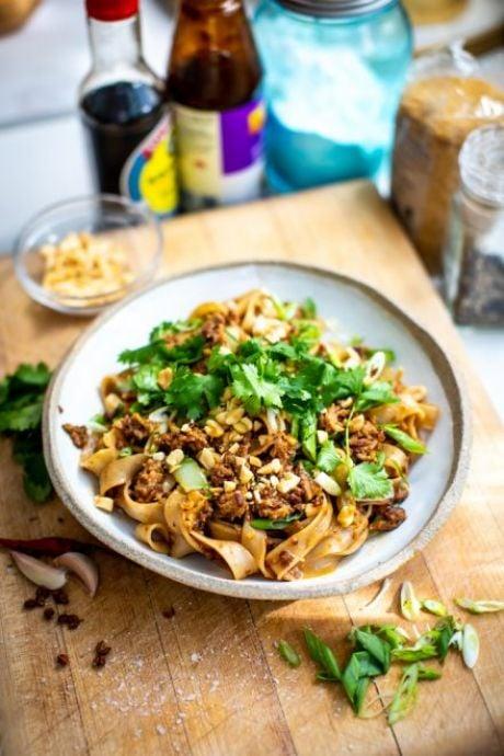 Szechuan Spiced Late Night Noodles | DonalSkehan.com